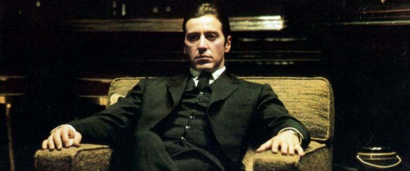 The Godfather Part II - Michael Corleone Sitting
