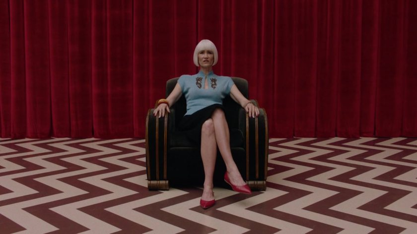 Twin Peaks The Return - Diane in the Red Room