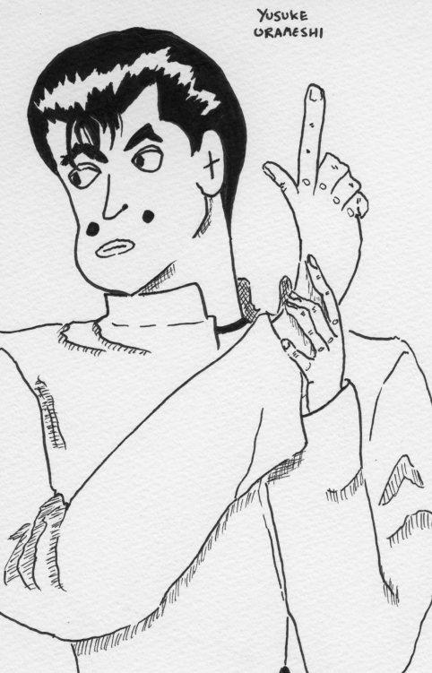 Yusuke Urameshi from Yu Yu Hakusho