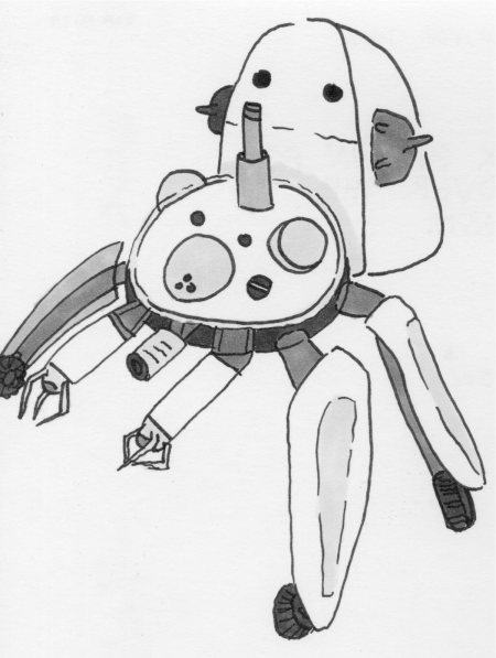 Tachikoma from Ghost in the Shell