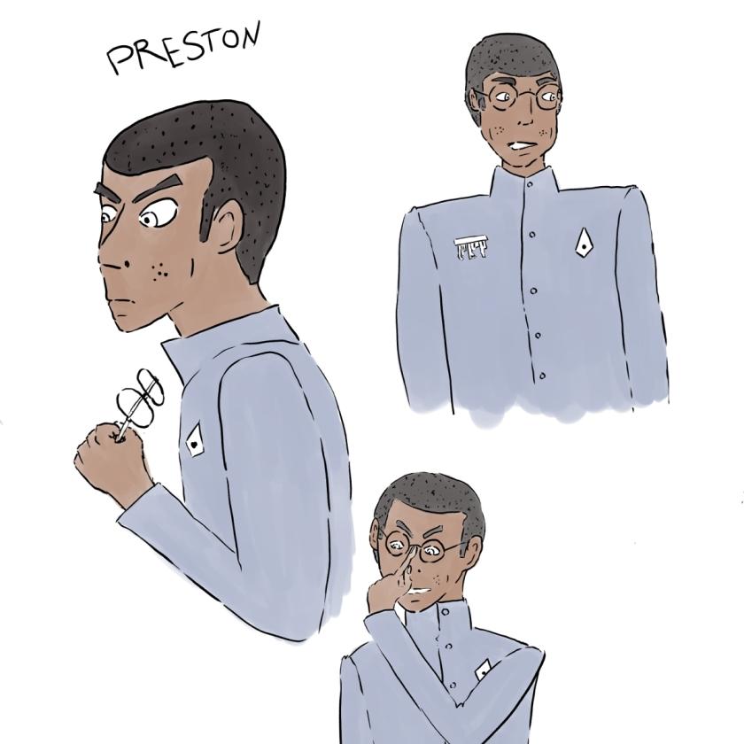 LSC Character Concept Art - Preston