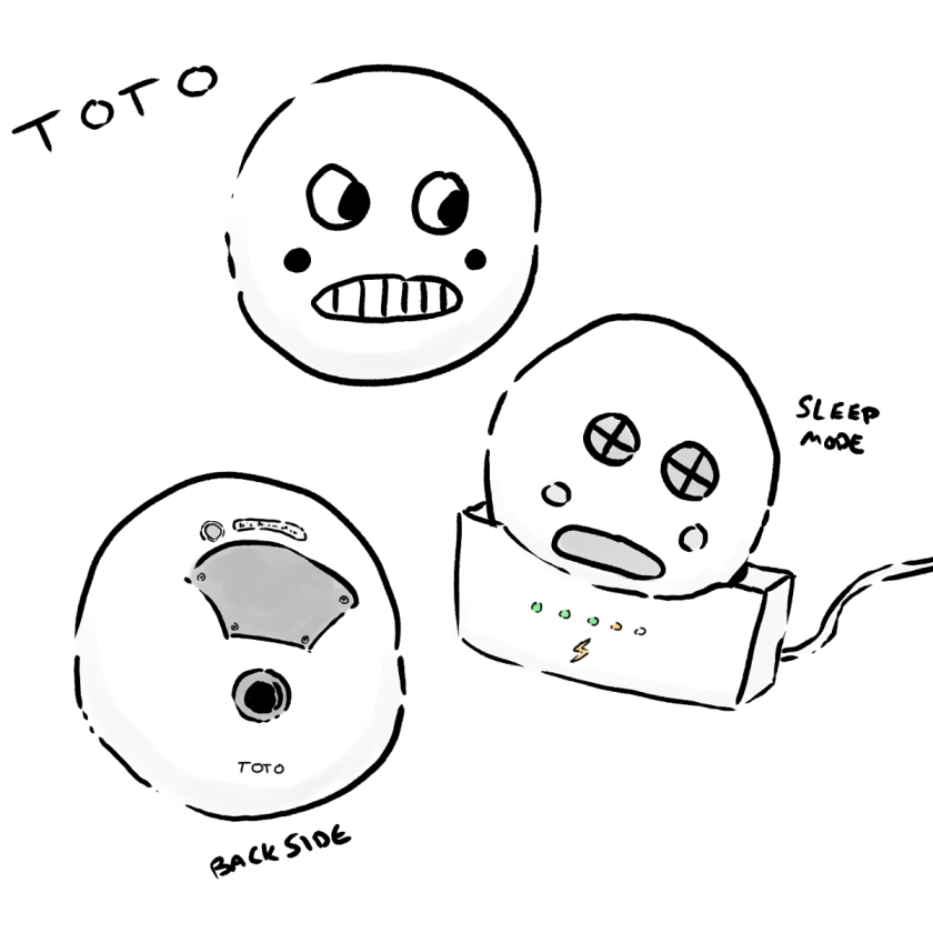 LSC Character Concept Art - Toto