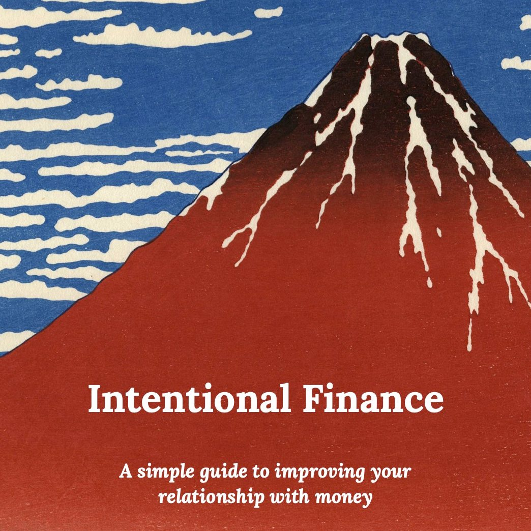 "Introducing ""Intentional Finance"""